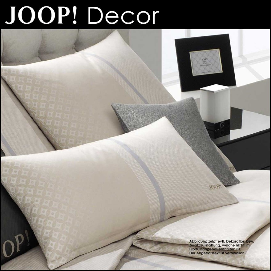 joop bettw sche decor dessert 155x220cm 80x80cm centa. Black Bedroom Furniture Sets. Home Design Ideas