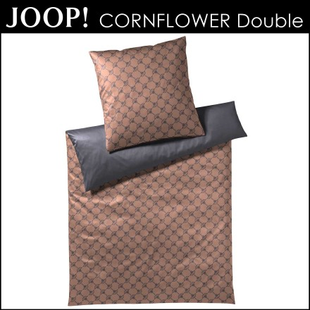 Joop Mako Satin Bettwäsche Cornflower Double Copper 155x22080x80cm