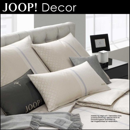 joop bettw sche decor dessert 155x220cm 80x80cm centa star bettdecken kissen bettw sche. Black Bedroom Furniture Sets. Home Design Ideas