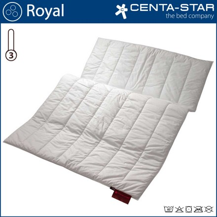 Centa-Star Royal Winterbett Duo 135/140x200cm 1B-Ware