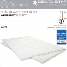 Centa-Star Dynamic Winterbett Duo 135/140x200cm 2.Wahl
