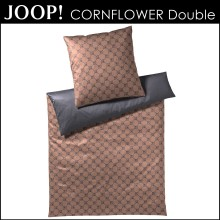 JOOP! Mako-Satin Bettwäsche Cornflower Double Copper 155x220cm