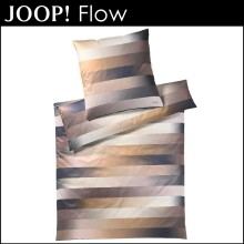 Joop! Mako-Satin Bettwäsche Flow Gold 135x200cm+80x80cm