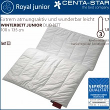 Centa-Star Royal junior Winterbett Duo 100x135cm 1B-Ware