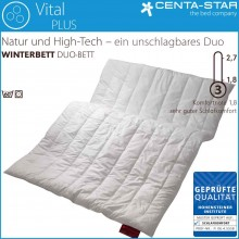 Centa-Star Vital Plus Winterbett Duo 135/140x220cm 2.-Wahl