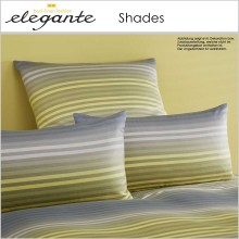 elegante Jersey Bettwäsche Shades Lemon 135x200cm